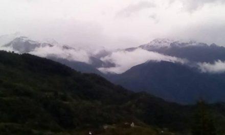 Así fue la nevada en Mérida