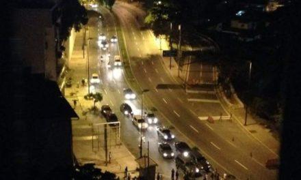 Guardia Nacional reprimió a manifestantes en Los Teques