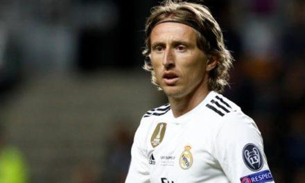 Real Madrid denunció al Inter por caso Modric
