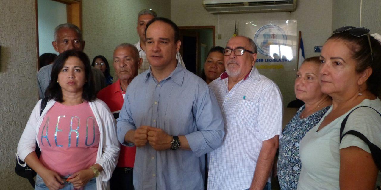 Concejal Frank Díaz reasume como presidente de la Cámara Municipal de Lechería