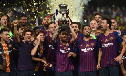 Barcelona conquista la Supercopa