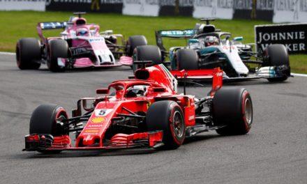 Vettel gana GP de Bélgica
