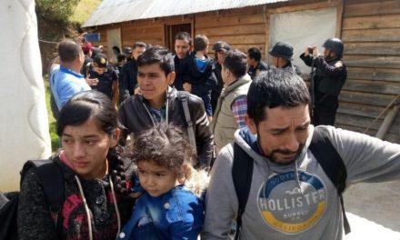 Rescatan a 22 migrantes secuestrados en el sur de México