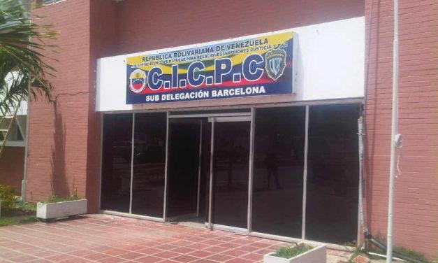 Cicpc abatió a sujeto buscado por robo y violación en Barcelona