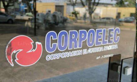 Corpoelec restablecerá progresivamente el servicio eléctrico en el Zulia