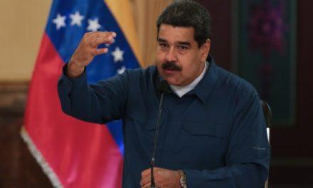 Maduro calificó como acto de cobardía sanciones contra Cilia Flores