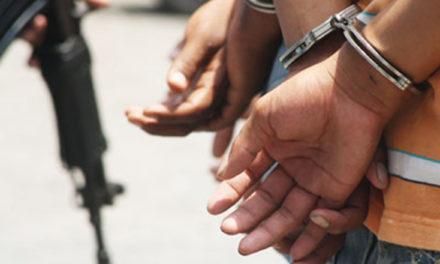 Poliguanta detuvo en flagrancia a siete sujetos en Playa Conoma