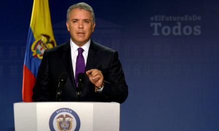 Duque pide apoyo financiero a OEA y el BID para atender «migración venezolana»