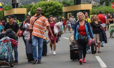 80% de refugiados venezolanos en Colombia sufre inseguridad alimentaria