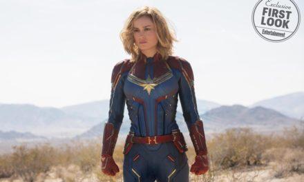 Primeras imágenes oficiales de Brie Larson como Captain Marvel