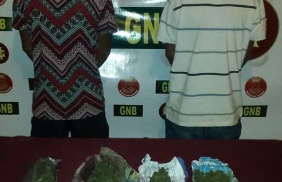 GNB incautó 33 panelas de marihuana en Anzoátegui