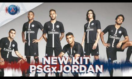 El nuevo uniforme del PSG de Neymar diseñado por Jordan