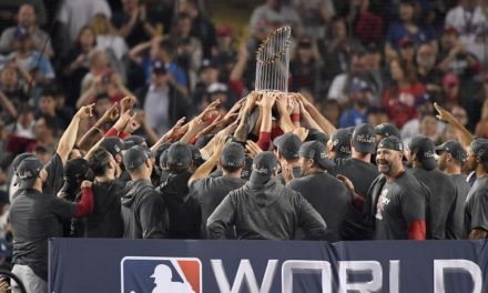 Medias Rojas ganan su novena Serie Mundial al vencer 5×1 a Dodgers