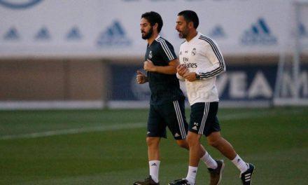 Marcelo e Isco se incorporan a los entrenamientos con el Madrid