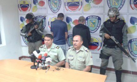 Polisotillo capturó a dos evadidos del retén Los Cocos de Nueva Esparta