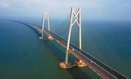 China se prepara para inaugurar el puente marítimo más largo del mundo