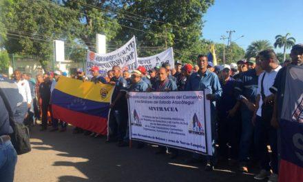 Trabajadores de Anzoátegui rechazan tabulaciones salariales