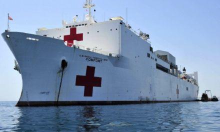 Buque hospital de EE.UU. zarpará a Latinoamérica para atender a venezolanos