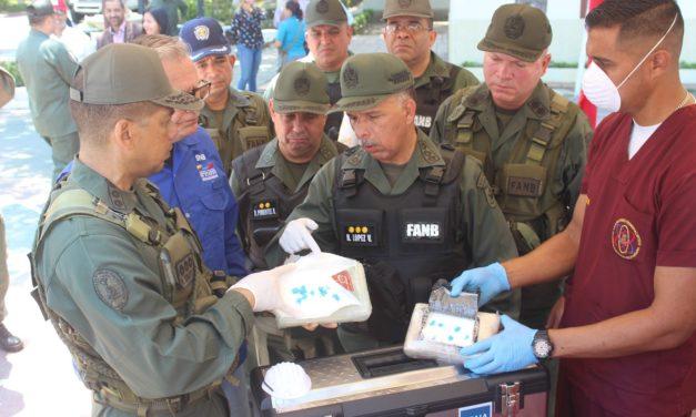 Privados de libertad ocupantes de barco por cargamento de drogas