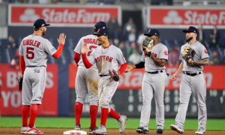 Los Medias Rojas de Boston concretaron su pase a la Serie Mundial