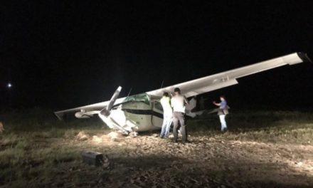 Avioneta con cocaína se estrelló en la Guajira con 300 kilos de droga
