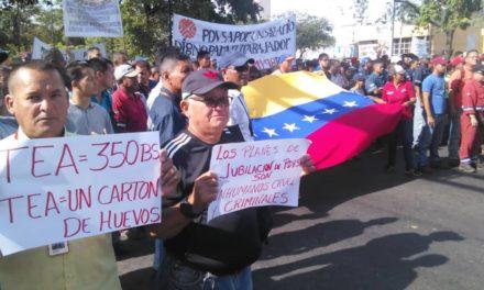 Gremios siguen en protesta por exigencias salariales