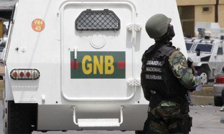 GNB despachó a un delincuente tras enfrentamiento
