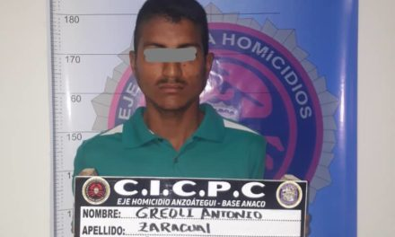 Cicpc arrestó a solicitado por homicidio en Anaco