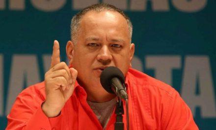 Diosdado Cabello: en Venezuela no hay crisis humanitaria