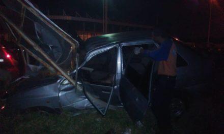Un muerto y un herido dejó accidente en Anaco