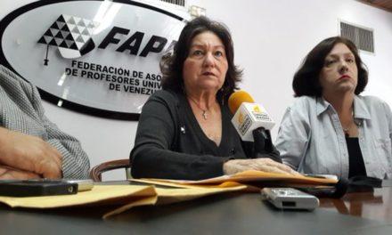 Fapuv: un profesor universitario titular debería ganar Bs.S 40.000