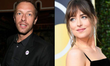 Chris Martin y Dakota Johnson en espera de su primer hijo