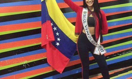 Sthefany Gutiérrez ya partió a Tailandia para participar en el Miss Universo