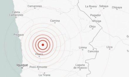 Sismo de magnitud 6,2 sacudió el norte de Chile