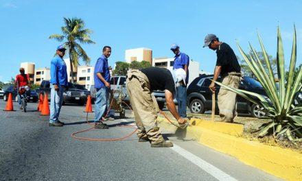 Arrancó la demarcación de brocales en el municipio Urbaneja