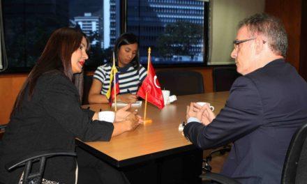 Ministra de Turismo reafirma convenios  con Turquía