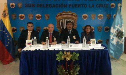 Cicpc realiza transmisión de mando en Anzoátegui