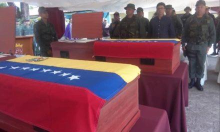Profanaron tumba de uno de los GNB asesinados en Amazonas