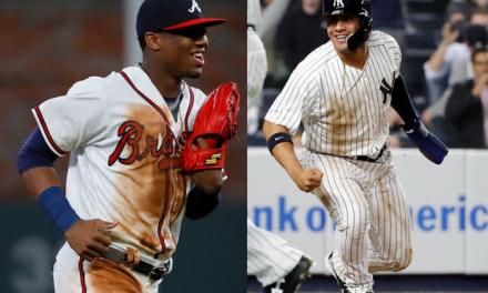 Ronald Acuña y Gleyber Torres finalistas al Premio Novato del Año de la MLB