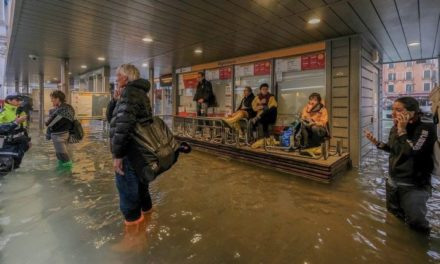 Más del 70 % de la ciudad de Venecia está bajo agua