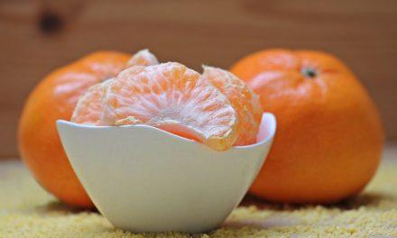 Cinco beneficios de la mandarina