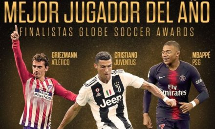 Ronaldo, Griezmann y Mbappe, candidatos al Globe Soccer