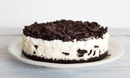 Torta fría de Oreo