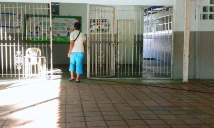 Centros de votación lucieron vacíos este domingo