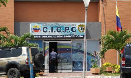 Tres detectives del Cicpc presos por asesinar a un hombre