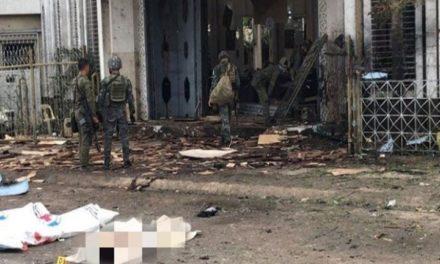 Registran al menos 20 muertos en un atentado contra una catedral en Filipinas