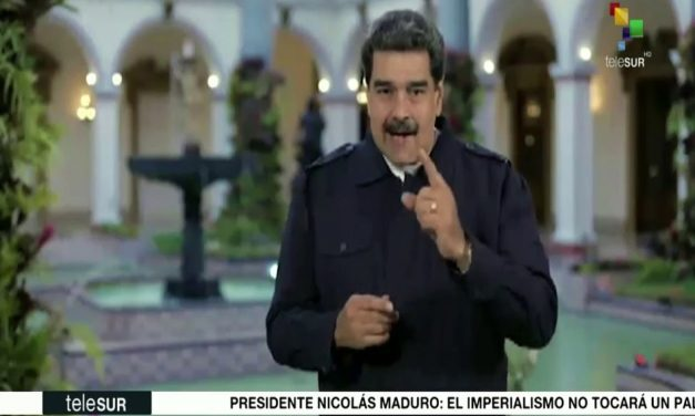 Maduro pidió al pueblo de EE.UU. rechazar injerencia a Venezuela