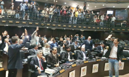 AN aprobó acuerdo de declaración de usurpación de la Presidencia