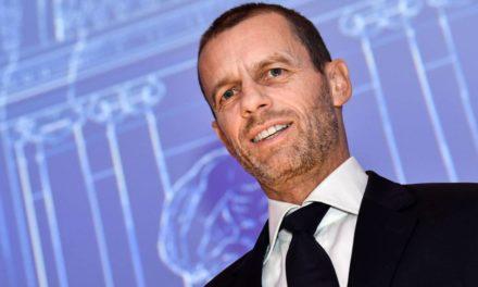 Ceferin es reelegido presidente de la UEFA hasta 2023