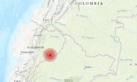 Sismo de 7.6 sacudió a Ecuador la madrugada de este viernes